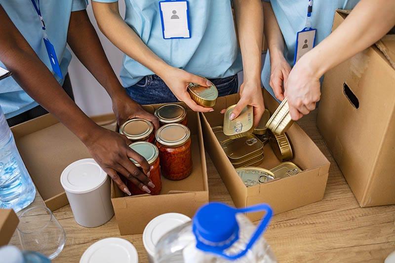 PTP Gives Back: Norwood Food Pantry