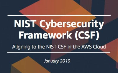 Decoding the NIST Cybersecurity Framework with AWS