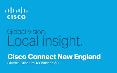 If You're Going to Cisco Connect at Gillette on 10/30, Bring a Warm Coat!