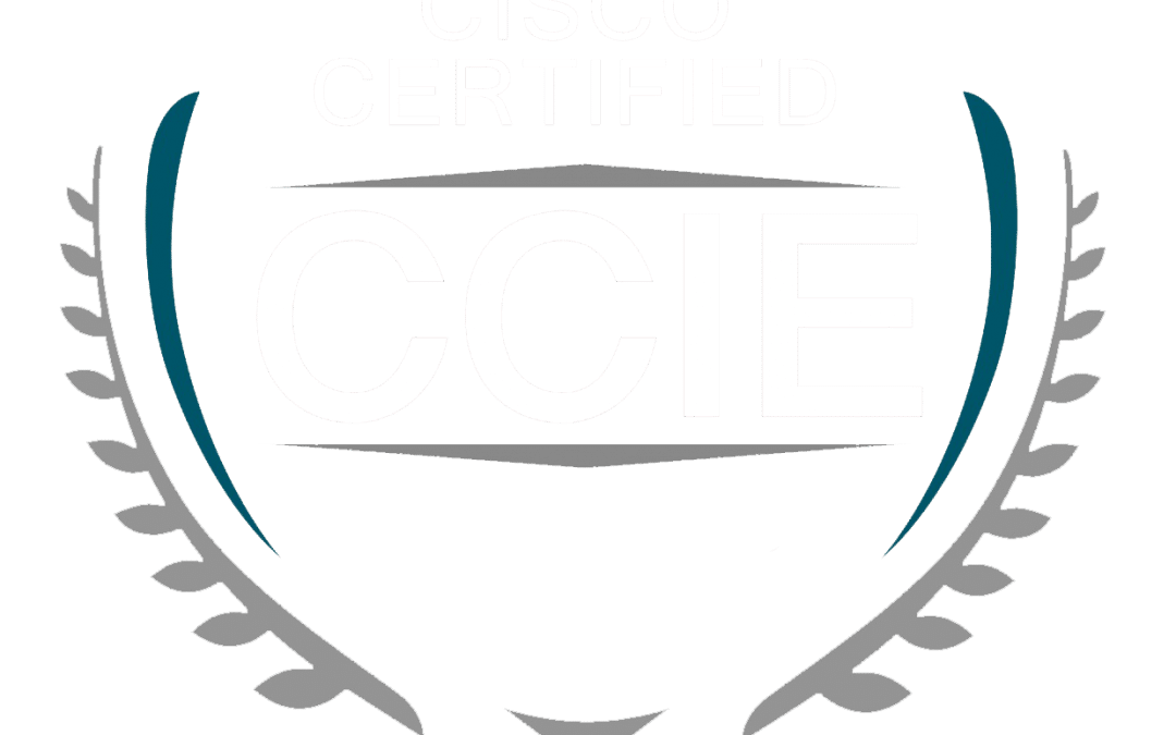 CCIE Logo – White Text