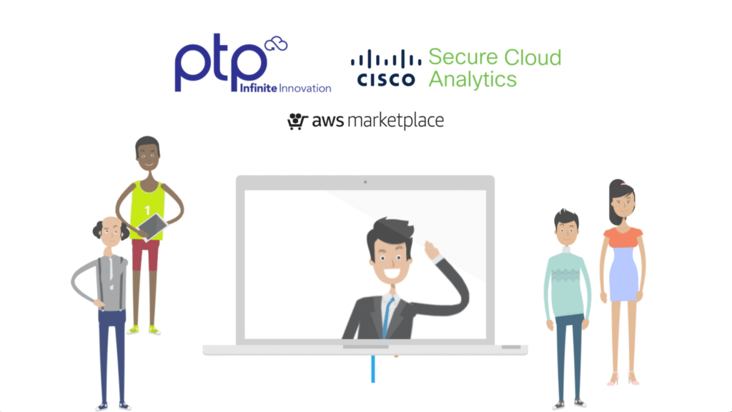 Cloud Security from PTP, powered by Cisco Secure on the AWS Marketplace.
